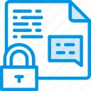 encrypted, file, protection, secure, security icon