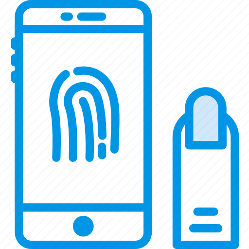 fingerprint, id, protection, secure, security icon