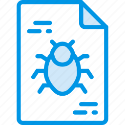 corrupted, file, protection, secure, security icon