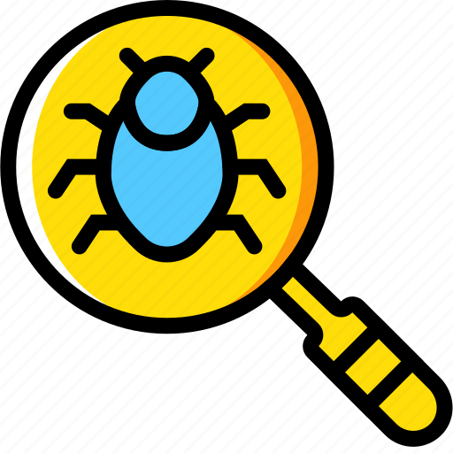 bugs, for, protection, search, secure, security icon