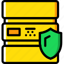 database, protected, protection, secure, security icon