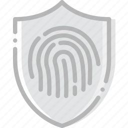 antivirus, encryption, fingerprint, safe, safety, security icon
