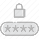 code, pin, safe, safety, security icon