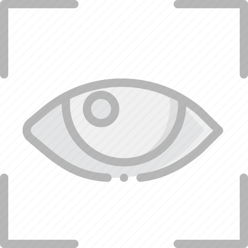 recognition, retina, safe, safety, security icon
