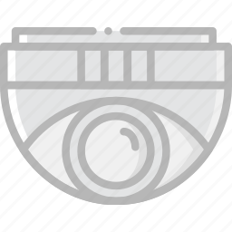 camera, dome, safe, safety, security icon