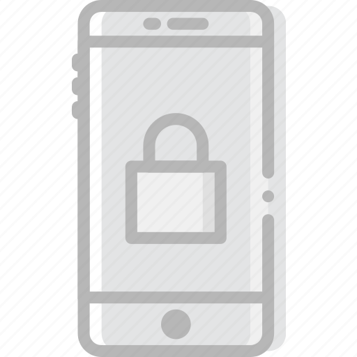 encryption, phone, safe, safety, security icon