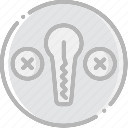 lockpick, safe, safety, security icon