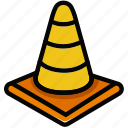 cone, protect, safety, security, traffic