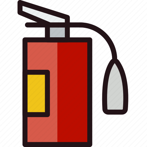 extinguisher, fire, protect, safety, security icon