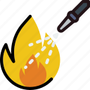 extinguishing, fire, protect, safety, security icon