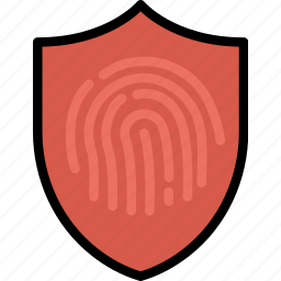 antivirus, encryption, fingerprint, protect, safety, security icon