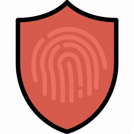 antivirus, encryption, fingerprint, protect, safety, security icon