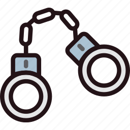 handcuffs, protect, safety, security icon