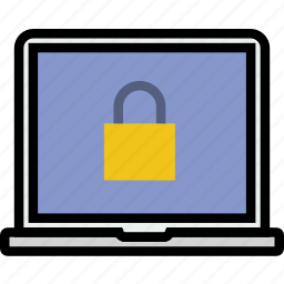 encryption, laptop, protect, safety, security icon