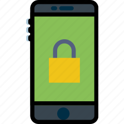 encryption, phone, protect, safety, security icon