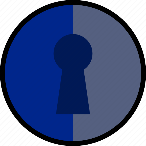keyhole, protect, safety, security icon