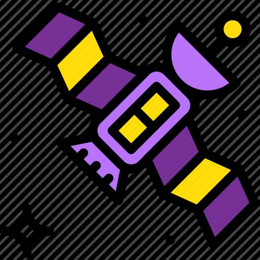 astronomy, satellite, space icon