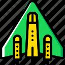 astronomy, space, spaceship icon