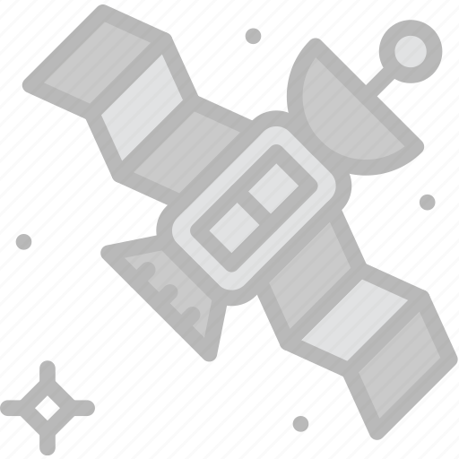 astronomy, satellite, space icon