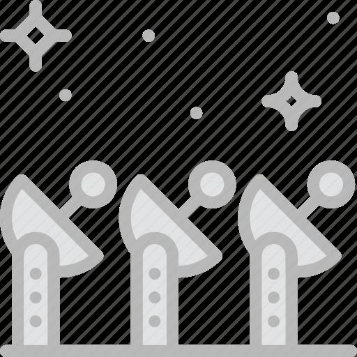 astronomy, dishes, seti, space icon