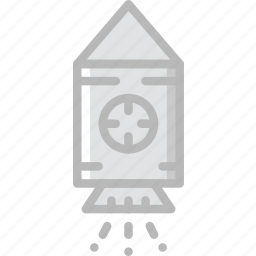 astronomy, module, rocket, space icon