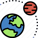 astronomy, orbit, planet, space