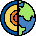 astronomy, composure, earth, space icon