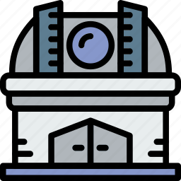 astronomy, observatory, space icon