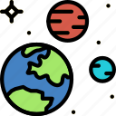 astronomy, space, system