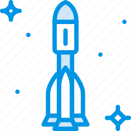astronomy, rocket, space icon
