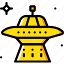 astronomy, space, ufo icon