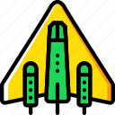 astronomy, space, spaceship icon