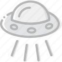 cosmos, space, ufo, universe icon