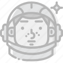 cosmos, gagarin, space, universe icon