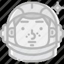 cosmos, gagarin, space, universe icon