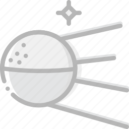 cosmos, space, sputnik, universe icon