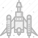 cosmos, fighting, space, spaceship, universe icon