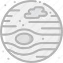 cosmos, jupiter, space, universe icon