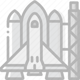 cosmos, launch, pad, space, spaceship, universe icon