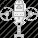 avatar, cosmos, ship, space, universe icon