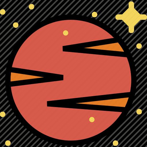 cosmos, space, universe, venus icon