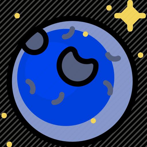 cosmos, neptune, space, universe icon