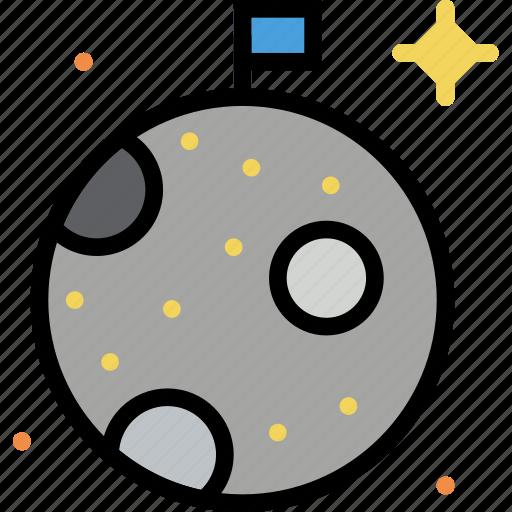 Cosmos, moon, space, universe icon - Download on Iconfinder