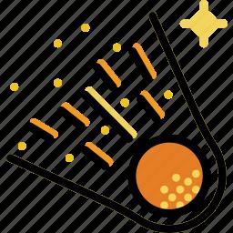 comet, cosmos, space, universe icon