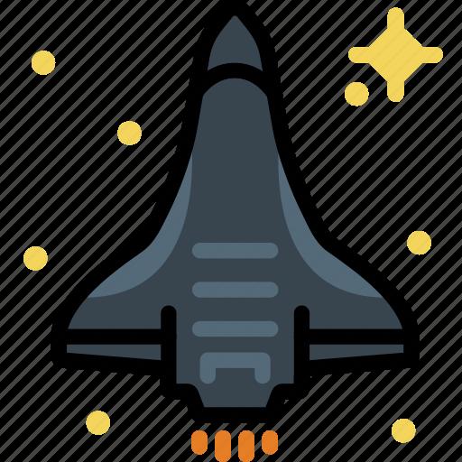 cosmos, space, spaceship, universe icon
