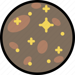 cosmos, europa, space, universe icon