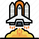 cosmos, launch, space, universe icon