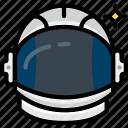 astronaut, cosmos, space, universe icon