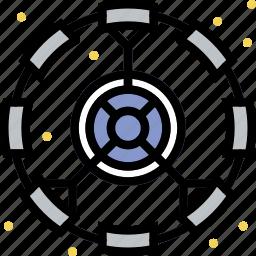 artifficial, cosmos, gravity, module, space, universe icon