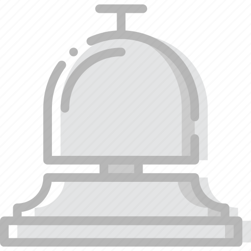 bell, hotel, journey, travel, voyage icon